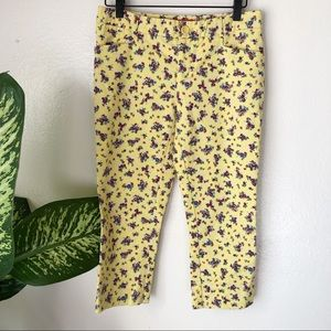 Anthropologie | Floral Capris